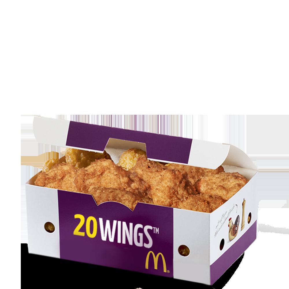 20 Chicken Wings Menu McDonald's Martinique