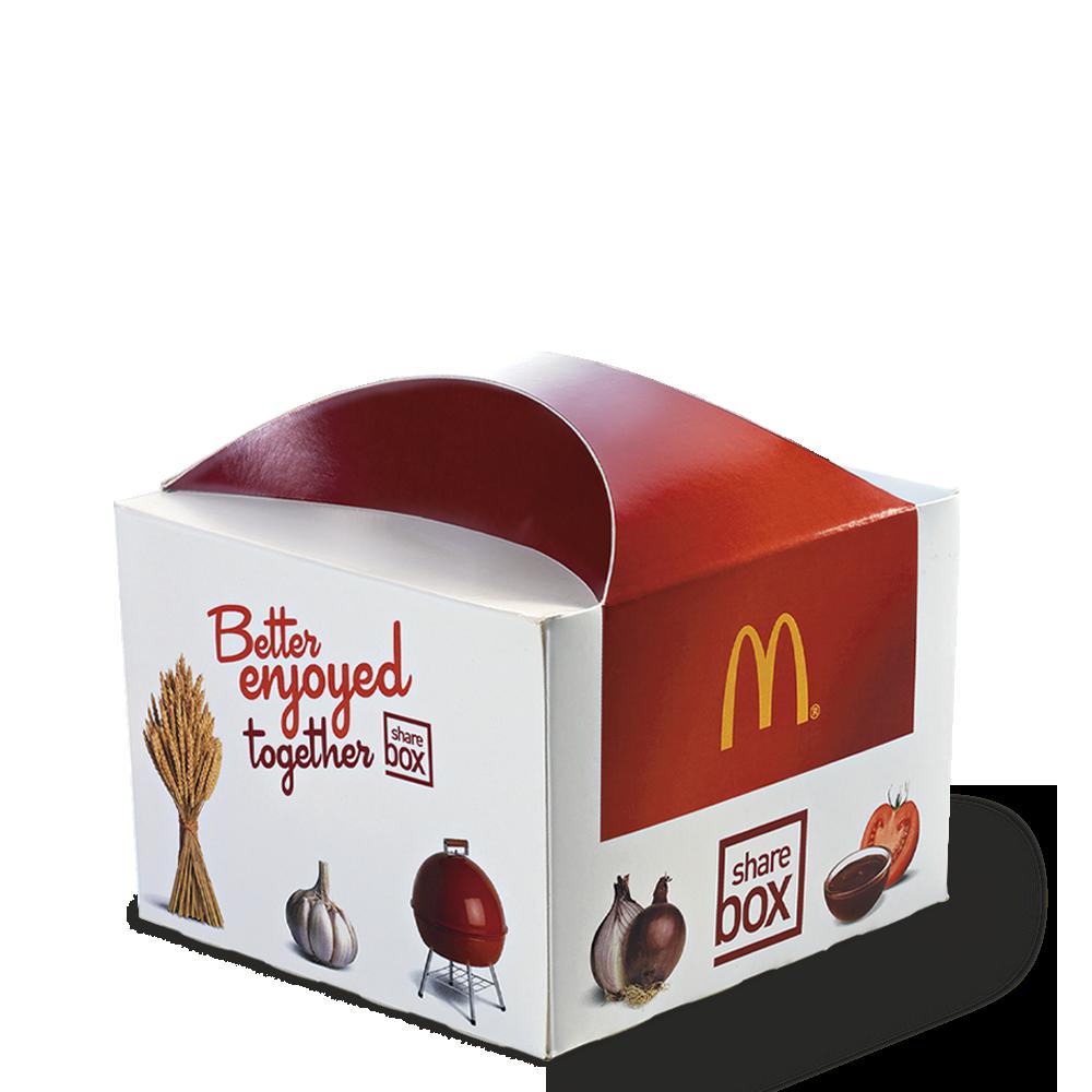 Sharebox Menu McDonald's Martinique