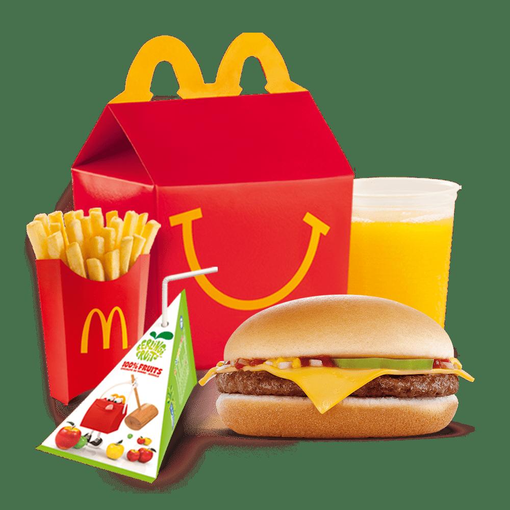 Menu Happy Meal™ Cheeseburger Menu McDonald's Martinique