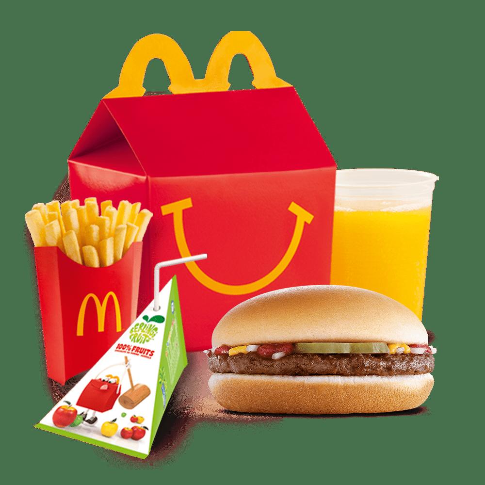 Menu Happy Meal™ Hamburger Menu McDonald's Martinique