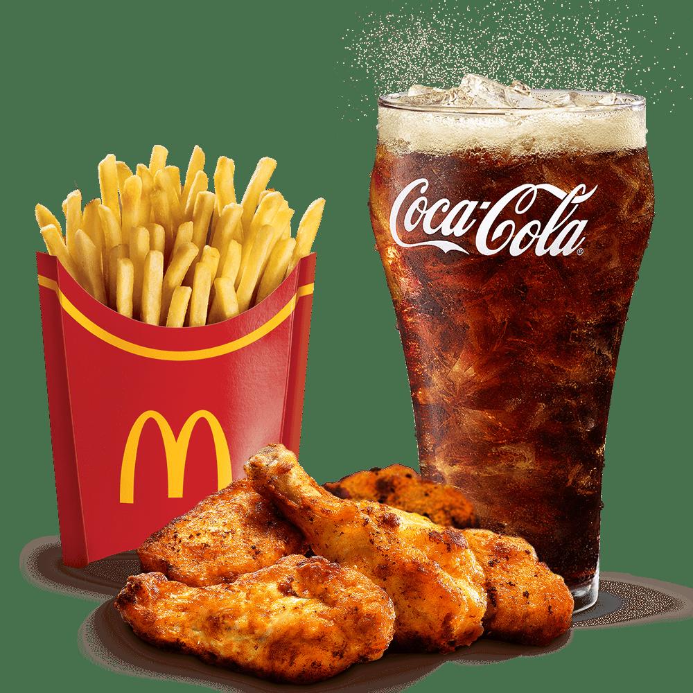 Menu Maxi Best Of 6 Chicken Wings Menu McDonald's Martinique