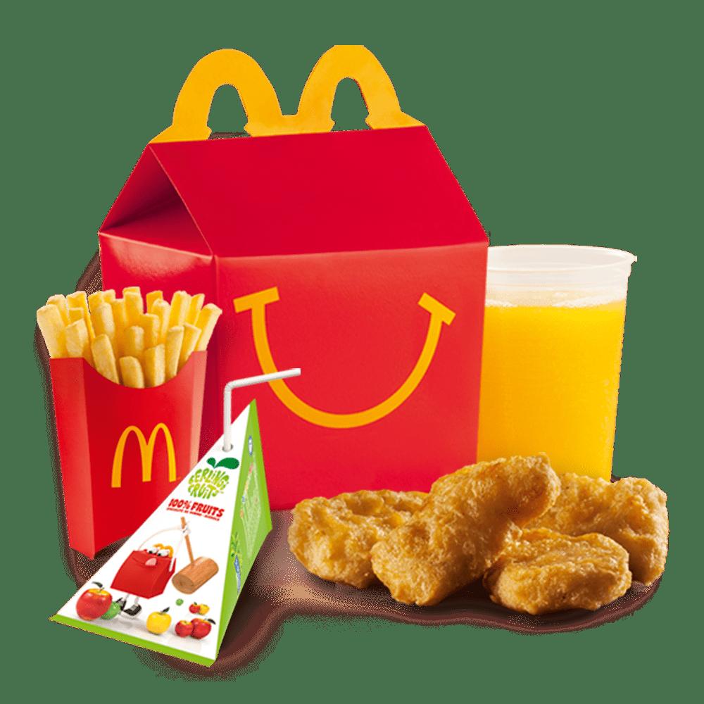 Menu Happy Meal™ Chicken McNuggets™ Menu McDonald's Martinique