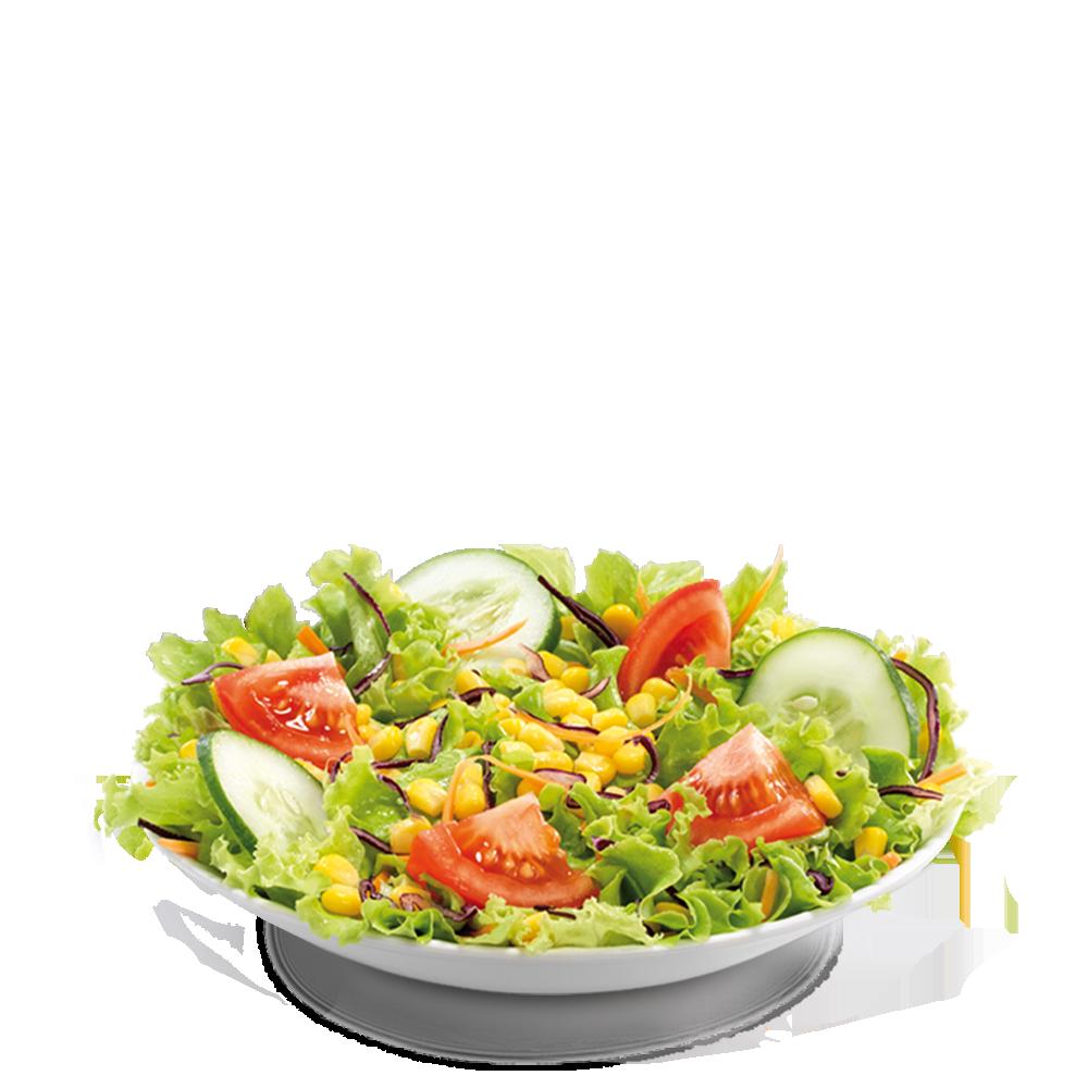 Salade Deluxe Maïs Menu McDonald's Martinique
