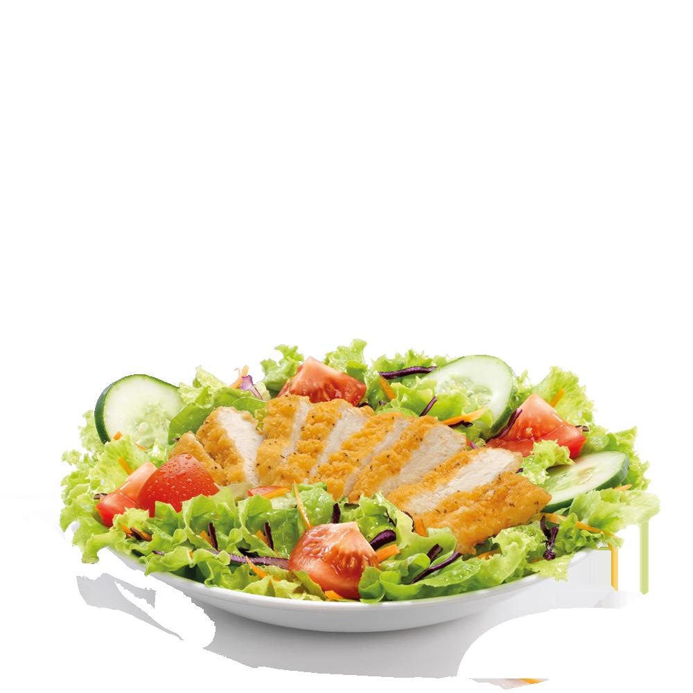 Salade Deluxe Poulet croustillant Menu McDonald's Martinique