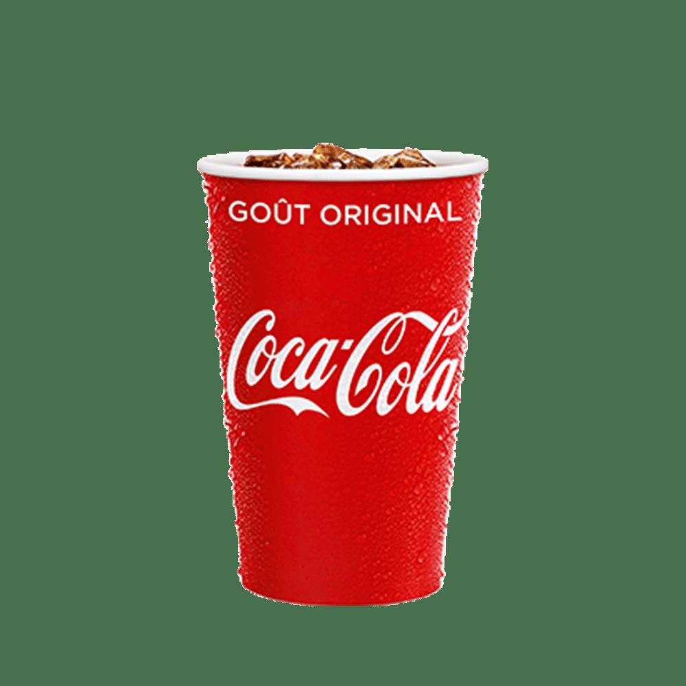 Coca-Cola Menu McDonald's Martinique