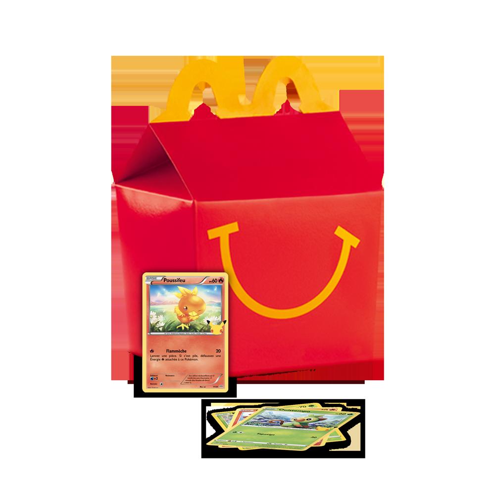 Happy Meal Pokemon Menu McDonald's Martinique
