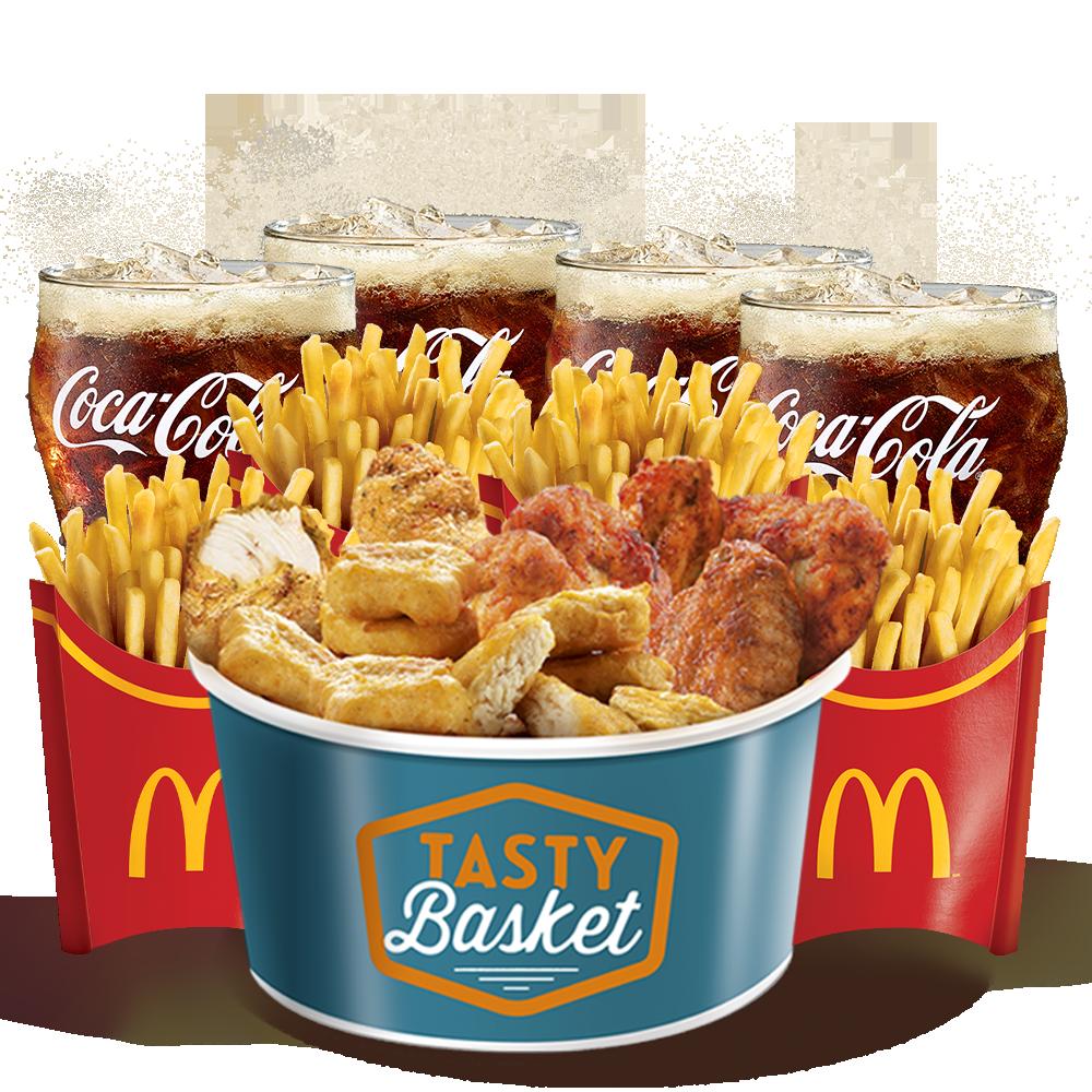 Menu Maxi Best Of Tasty Basket Menu McDonald's Martinique