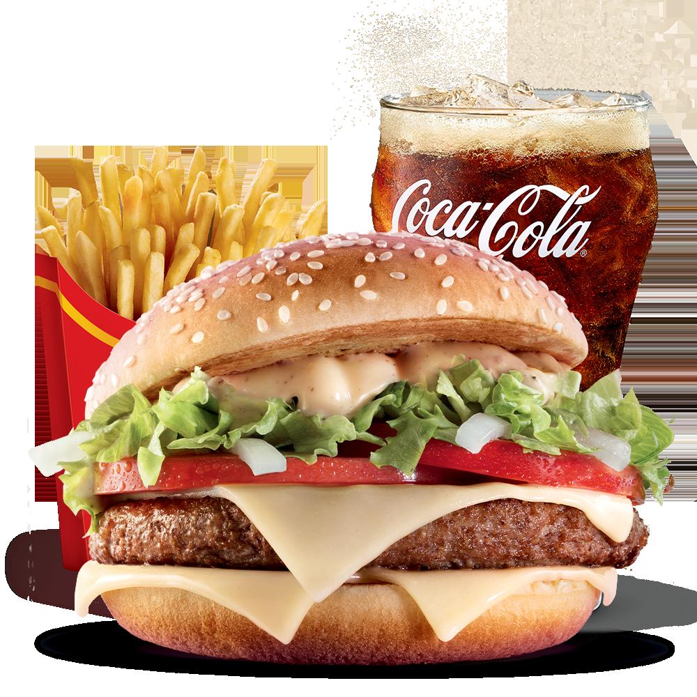 Menu Maxi Best Of Big Tasty Menu McDonald's Martinique