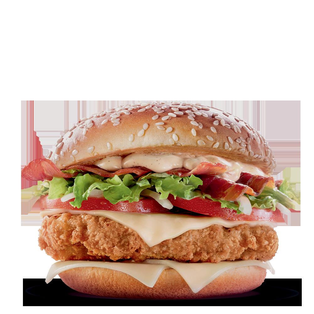 Menu McDonald's Antilles : Big Tasty Chicken Bacon